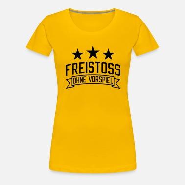 Frispark uten forspill Fotball T skjorte med flagrende ermer