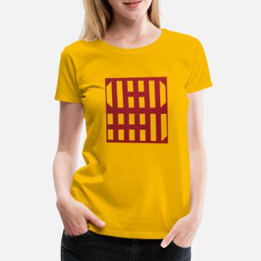 Grid grid - Women's Premium T-Shirt