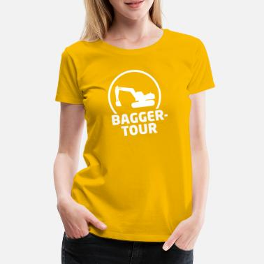 baggertour party jga - Frauen Premium T-Shirt