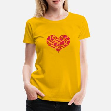 Mother's Day mothersday_v2_heart_of_hearts - Women's Premium T-Shirt