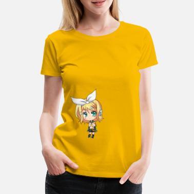 Chibi Chibi Rin - Camiseta premium mujer 237aa45fa2c