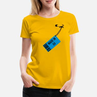 Europa Made in EU T-Shirt - Frauen Premium T-Shirt