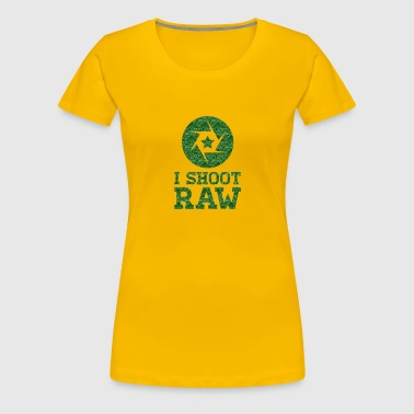 I Shoot RAW - Star - Women's Premium T-Shirt