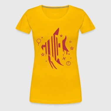Fish and Stars - Women's Premium T-Shirt