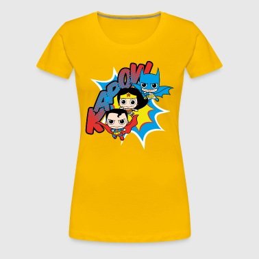 DC Comics Originals  Chibis - Frauen Premium T-Shirt
