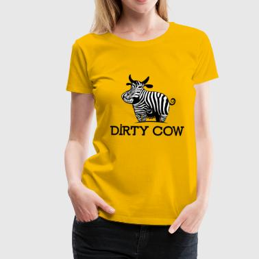 DIRTY_COW - Frauen Premium T-Shirt