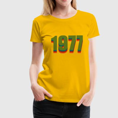 1977 rainbow - Frauen Premium T-Shirt