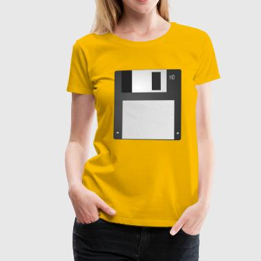 diskette - Women's Premium T-Shirt