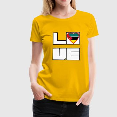 Loveland Roots Mozambique - Dame premium T-shirt