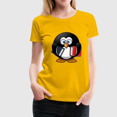 Books - Women's Premium T-Shirt