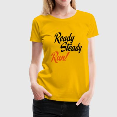 2541614 15120019 run - Frauen Premium T-Shirt
