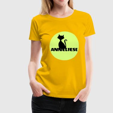 Anneliese gift for the name day, birthday, baptism - Women's Premium T-Shirt