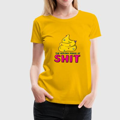 The Golden skit Fun - Premium-T-shirt dam