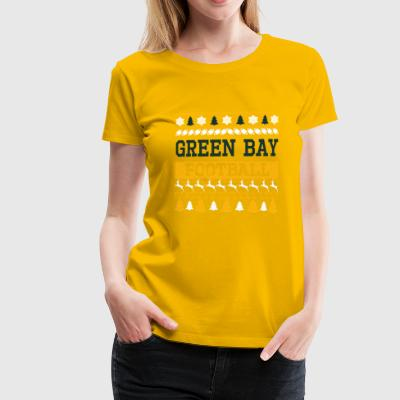 Ugly Sweater Green Bay - Dame premium T-shirt
