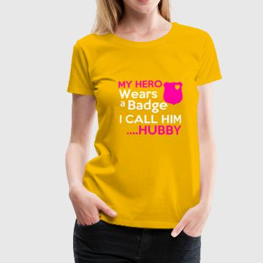 Hubby Wife - Women's Premium T-Shirt