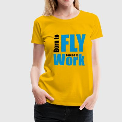 2541614 12071694 fly - Women's Premium T-Shirt
