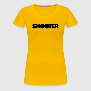 Shooter - Frauen Premium T-Shirt
