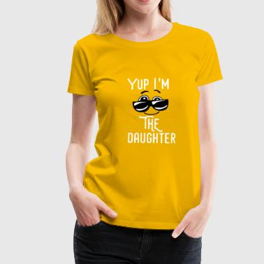 daughter - Frauen Premium T-Shirt