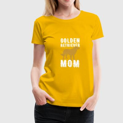 Golden Retriever Mom T-shirt Gift - Vrouwen Premium T-shirt