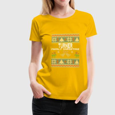 Ugly Turner Christmas Family Vacation Tshirt - Women's Premium T-Shirt