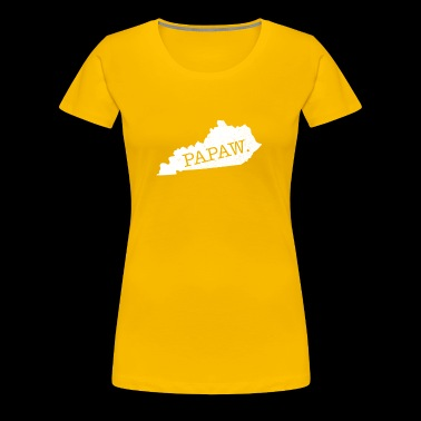 Papaw Kentucky grandpa cool - Women's Premium T-Shirt