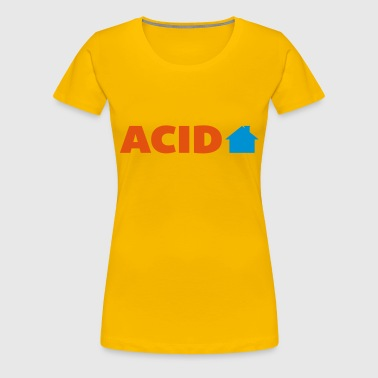 Acid House  - Frauen Premium T-Shirt