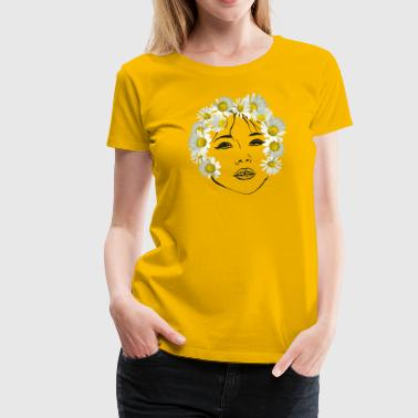 Flower girl transparent - Women's Premium T-Shirt