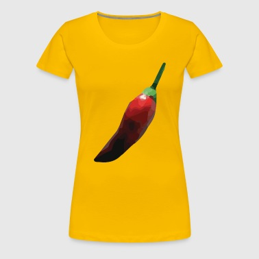 faceted chili - Women's Premium T-Shirt