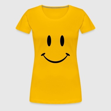 smiley_big - T-shirt Premium Femme