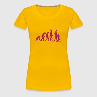 evolution_sucks_a_1c - Women's Premium T-Shirt