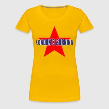 London's burning étoile - T-shirt Premium Femme
