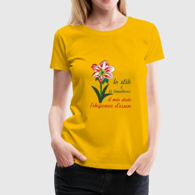 amarillis it - Women's Premium T-Shirt