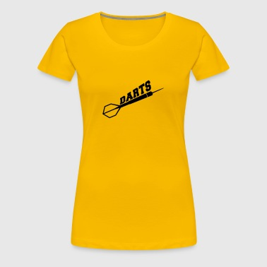 Darts Design - Frauen Premium T-Shirt