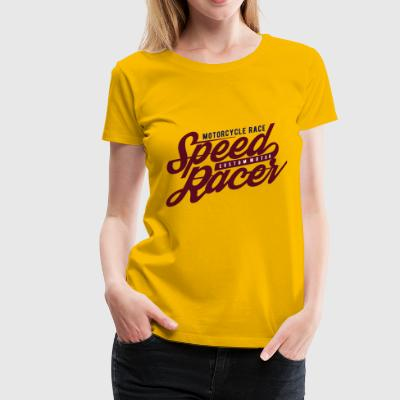 2541614 135368919 Speed ​​Racer - Dame premium T-shirt