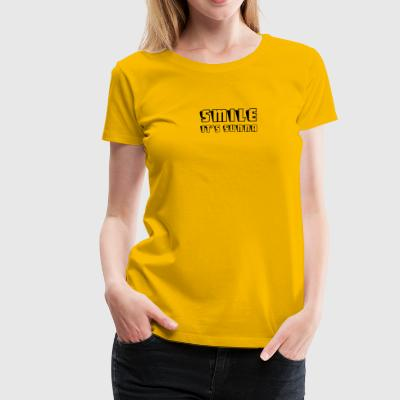 Smile- it's sunna - Frauen Premium T-Shirt