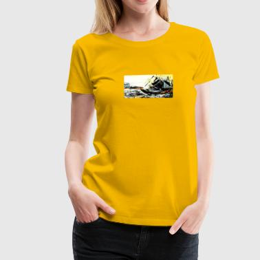 Crea Cathy l'Escaud - Women's Premium T-Shirt