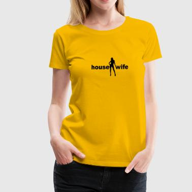 Sexy housewife housewife cleaningwoman 1c - Women's Premium T-Shirt