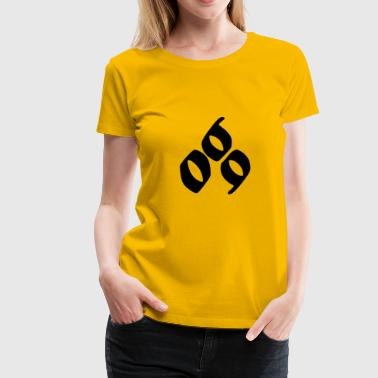 069 Support - Women's Premium T-Shirt