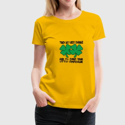 Irish My Lucky Charms Saint Patrick's Day - Women's Premium T-Shirt
