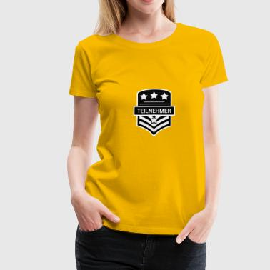 subscriber - Women's Premium T-Shirt