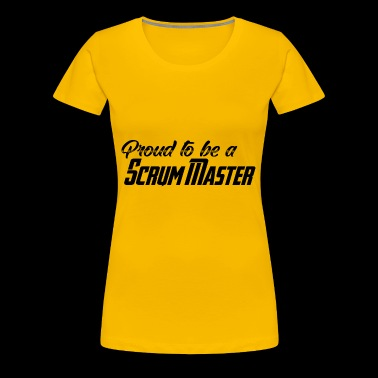 Proud to be a Scrum Master - Frauen Premium T-Shirt