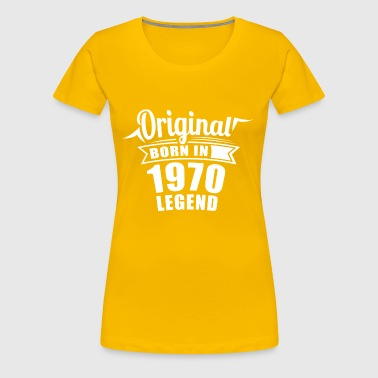 1970's original birthday gift - Women's Premium T-Shirt