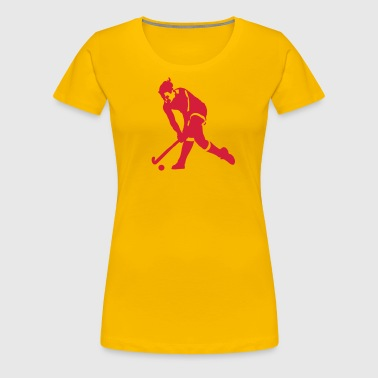 field hockey - Frauen Premium T-Shirt