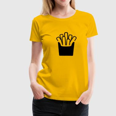 fries - Vrouwen Premium T-shirt