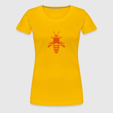 Bee fly insect 1112 - Women's Premium T-Shirt