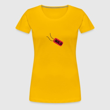 Sold sold reduced price tag - Women's Premium T-Shirt