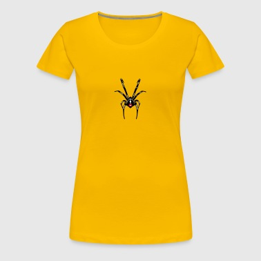 Black widow spin - Vrouwen Premium T-shirt
