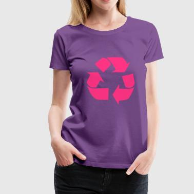 Recycling for the World - Premium T-skjorte for kvinner