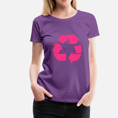 Anonymous For The Voiceless Recycling for the World - Vrouwen Premium T-shirt