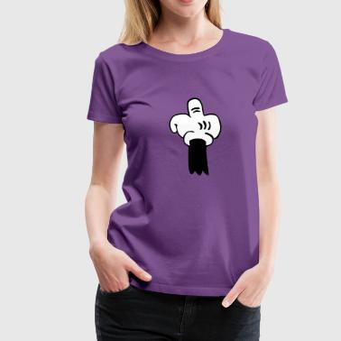 The Finger - Women's Premium T-Shirt